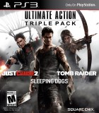 Ultimate Action Triple Pack (Just Cause 2 + Sleeping Dogs + Tomb Raider)